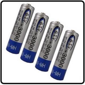 Pilas Baterias 4 Recargables Aa De 1.2v mah Ni Mh