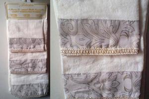 juego de toallas decorativas
