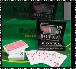 Barajas Cartas De Poker 100%plásticas, Lavables Naipes