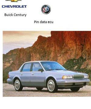Century Buick Pin Data Ecu Componentes Ensenciales