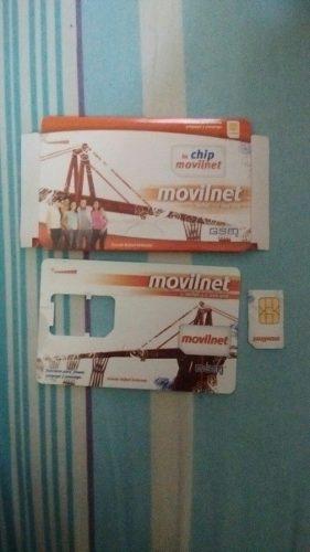 Chip Movilnet Sin Línea