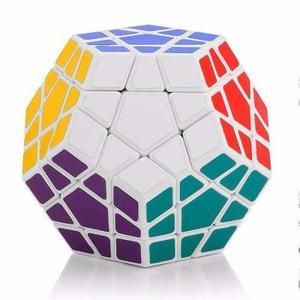 Cubo De Rubik Shengshou Megaminx Speedcube Color Blanco
