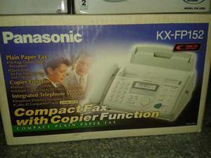 Fax Panasonic Completo Usado En Excelente Condición