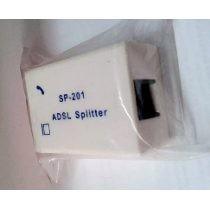 Filtro Adsl Doble Sp-201 Splitter Teléfono - Internet