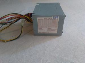 Fuente De Poder Atx 450 W. 20 Pines,usada 100 % Operativa.