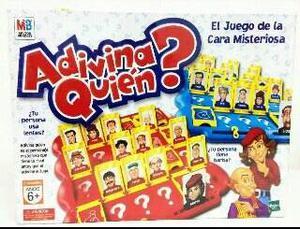 Juego Adivina Quién Original De Hasbro