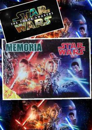 Juego De Memoria 72 Piezas Guerra De Las Galaxias Episodio 7