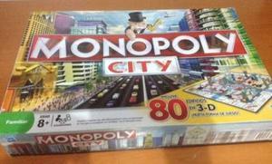 Juego De Mesa Monopoly City 3d