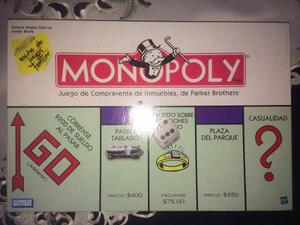 Juego De Mesa Monopoly Original En Perfecto Estado