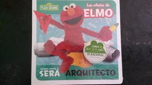 Libro De Rompecabezas Los Oficios De Elmo Plaza Sésamo