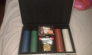 Maletín De Poker, En Perfectas Condiciones.