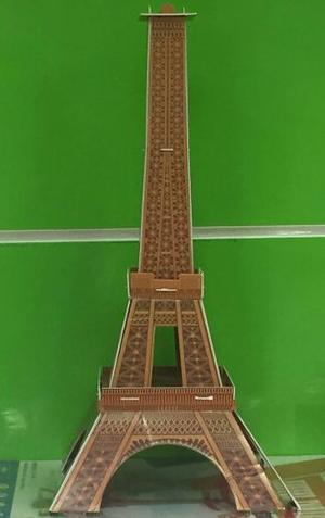 Rompecabezas 3d Torre Eiffel 20 Piezas