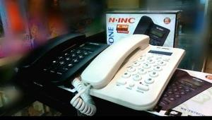 Telefono Alambrico Para Casa O Oficina Identificador Llamada