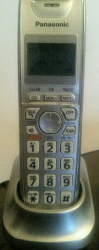 Telefono Inalambrico Panasonic Dect 6.0 + 1 Auricular