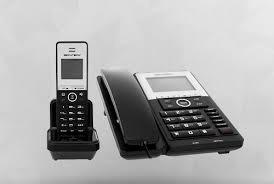 Teléfono De Mesa Mas Auxiliar Inalambrico + Lcd +new