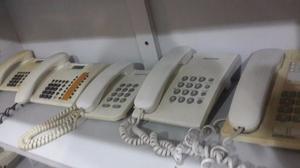 Vendo Lote De Telefonos Fijos Usados Siemens Y Panasonic