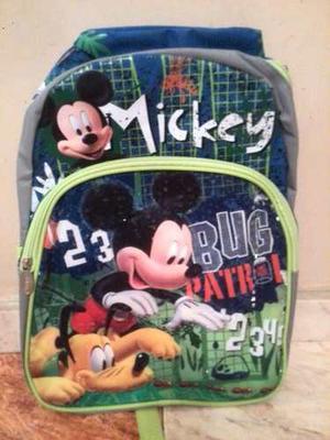 Morral Escolar Mickey Mouse