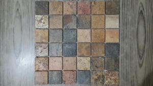 Mosaico O Malla Decorativa de Piedra