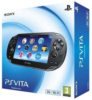 Ps Vita 3g+wifi+ 1 Juego + Memoria 4gb