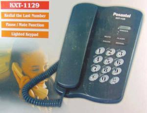 Telefono De Mesa Con Bloquiador Kxt