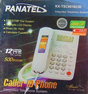 Telefono De Mesa Con Pantalla 12 Digito Musica