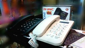 Teléfono Alambrico Oficina Casa