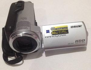 Video Camara Sony Dcr Sr-47 Disco Duro De 60gb Como Nueva