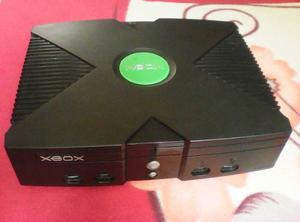 Xbox Clasico + 2 Controles / Cable De Video / Cable De Poder