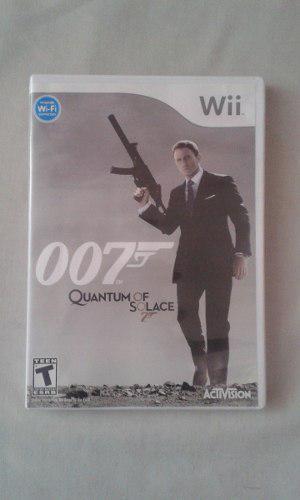 007 Quantum Of Solace Para Nintendo Wii Venta O Cambio