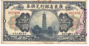Billete chino Año