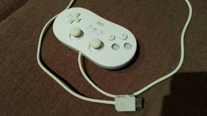 Control Tradicional Clasico De Nintendo Wii (negro)