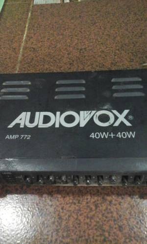 Ecualizador Audiovox 40w40w Usado