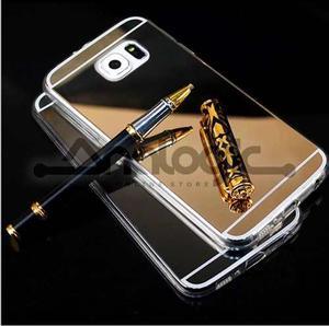 Forro Estuche Protector Goma Espejo Samsung S4 S5 J5 J