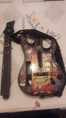 Guitarra De Guitar Hero Para Wii