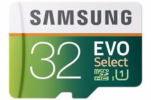 Memorias Micro Sd 32gb Samsung Evo 80mb/s Rápidas