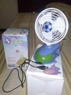 Mini Ventilador Portátil, Usb O Bateria