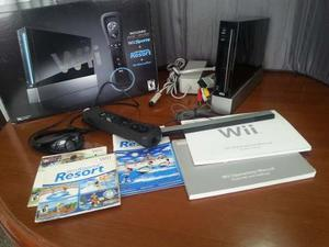 Nintendo Wii Black, Ultima Edición, + Tabla Wii Fit