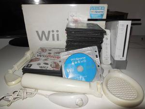 Nintendo Wii Sport, C/acces, Chipeado Y Con Mas De 40 Juegos