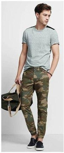 Pantalon Joggers Para Hombre Camuflados Tubito Mono
