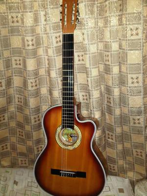 Vendo Bella Guitarra Acustica Como Nueva