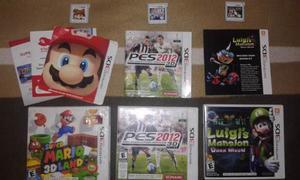 Vendo Juegos De Wii Y 3ds