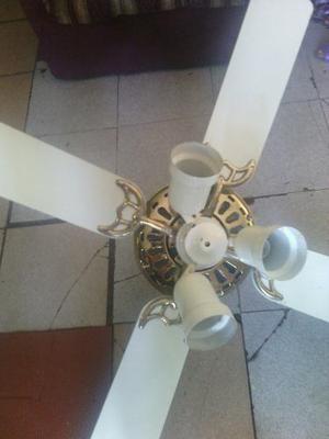 Lampara ventilador de techo posot class - Lamparas de techo con ventilador ...