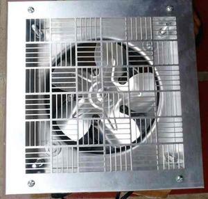Ventilador Extractor De Aluminio Con Rejilla Y Marco De 6¨