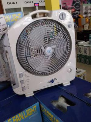 Ventilador Recargable Con Radio Am/fm Y Lampara Led Gp-