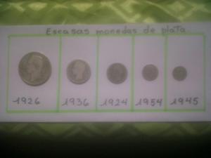 monedas de plata colección