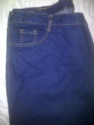 Blue jeans triple costura caballero