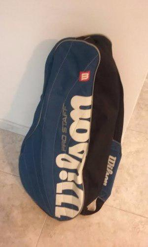 Bolso Para Raquetas De Tennis Wilson Usado