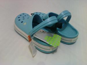 Crocs Aqua Originales Oferta