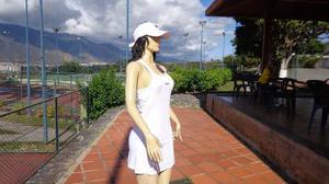 Falda Color Blanco Talla S -xs
