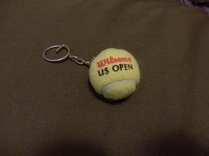 Llavero Pelota De Tennis Us Open Penn